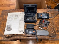 Sony 8 Video Recorder/Monitor (RARE) With Manuals Charlotte, 28205