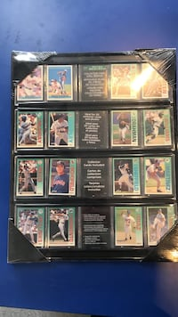 BASEBALL COLLECTOR CARD WALL DISPLAY *NEW* Mooresville, 28117