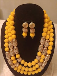 yellow and silver beaded tesbih New Westminster, V3M