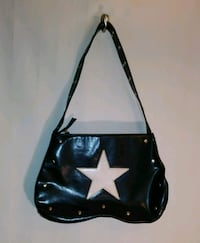BLACK STAR PURSE