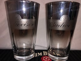 Budweiser Collector Pint Glasses