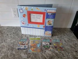 *New* Never Used Scrapbook & Stickers