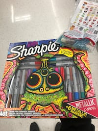 Sharpie Limited Edition 38 ct Permanent Marker & Coloring Page Set Seaside