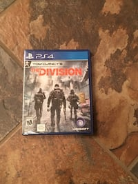 Sony PS4 The Division game case