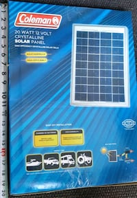 SOLAR PANEL  with CHARGE CONTROLLER Hamilton, L9H 5E3