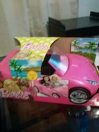 children's pink Barbie ride-on toy 231 mi