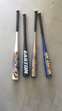 four baseball bats Bountiful