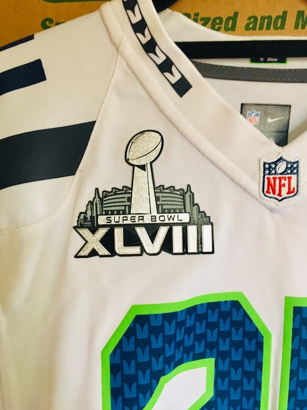 sports shoes f2ced 98481 Marshawn Lynch Seattle Seahawks Nike Elite Authentic Jersey
