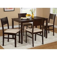 Lucca Dining Table, Espresso, **TABLE ONLY**