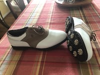 White and tan golf shoes. Foot joy   Sterling, 20165