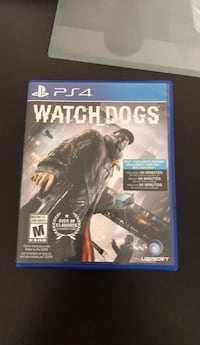 Watch Dogs PS4 game case Toronto, M1R 5G9