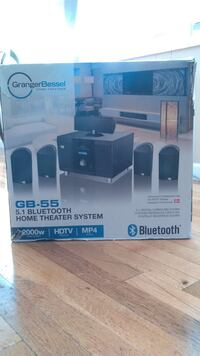 black and gray home theater system box Kent, 98030