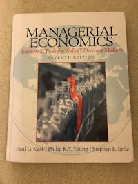 Managerial Economics (7th edition) Gainesville, 20155
