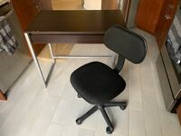 Desk with drawer and adjustable office chair Alexandria, 22314