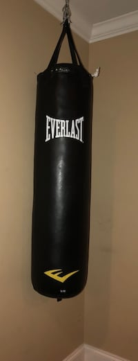 black Everlast free standing punching bag Emerson, 30121