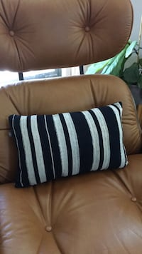 Striped Lumbar Pillow