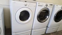 white front-load washer and dryer set Charlotte, 28227