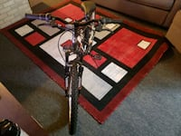 black and red hardtail mountain bike St. Charles, 60175