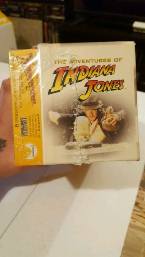 Vintage Indiana Jones VHS Collections  1