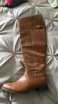 Brand new knee high boots, size 11