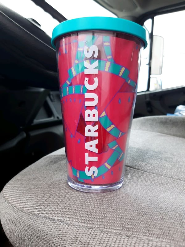 Starbucks  watermelon cup rare and hard to find  0ebf95bb-9afc-4dd6-aae8-b602360b65cb