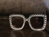 silver-colored framed sunglasses Baton Rouge, 70815