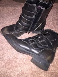 Brown leather boots Welland, L3C 5S3