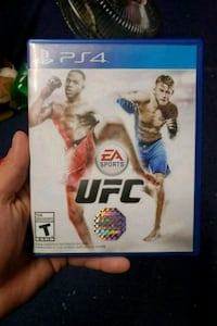 EA Sports UFC Sony PS4 game case Omaha, 68117