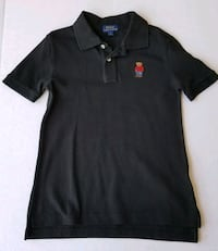 Ralph Lauren Polo Shirt Black Size 7