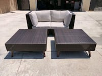 Brown Wicker Patio Set West Covina, 91790