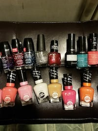 Assortment of gently used nail polishes  London, N6J 3B6