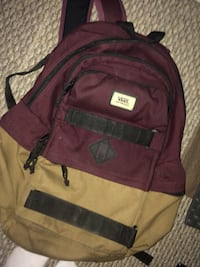 maroon and black backpack carrier Calgary, T2X 1E7