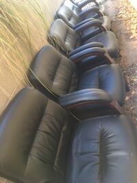 Leather chairs 6 for $160 or $35 each Albuquerque, 87114