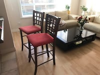 Set of 2 Bar Chairs Richmond