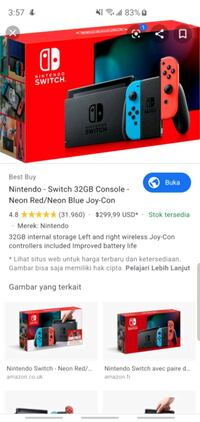 I'm looking for bundle nintendo switch