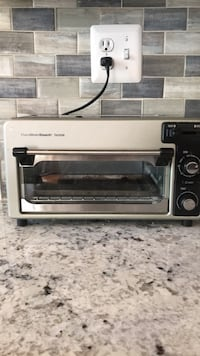 gray and black Hamilton Beach toaster oven