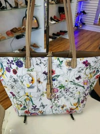 white and pink floral tote bag Miami, 33165