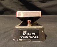 Vintage Vox King Wah VERY Hard To Find! Guitar Effect Pedal - Knoll Guitars Clean Bill Of Health!   Pascoag, 02830