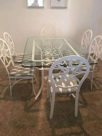 white wooden dining table set Herndon, 20171