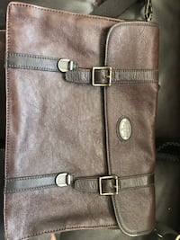 Brown Leather Fossil messenger bag Middletown, 07758