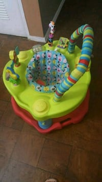 baby's green and red exersaucer Alexandria, 22302