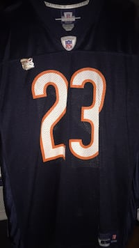 #23 Devin Hester Authentic Chicago Bears Jersey Oak Forest, 60452