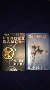Two the hunger games by suzanne collins books Raleigh, 27603