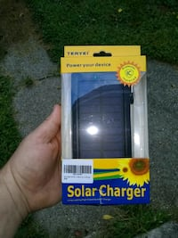 Solar Charger,Brand new in the box