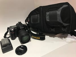 Nikon D80 with 18-135 Nikkor Lens and 32GB SanDisk SD-Card
