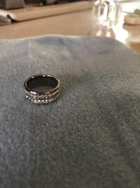 silver-colored diamond ring Lafayette, 47905