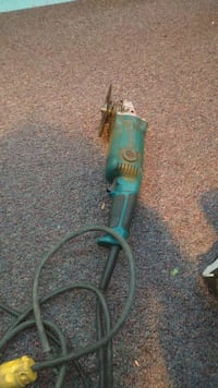 green and black corded angle grinder Edmonton, T6B 0H3