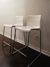 Two High Stools / Chairs Toronto, M5J 2Y6