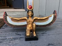 Egyptian Statue Art Isis Somers, 10589