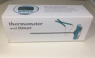 DAVIDsTEA thermometer and timer